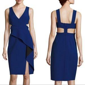 Never worn BCBG Riya peplum Dress size 0